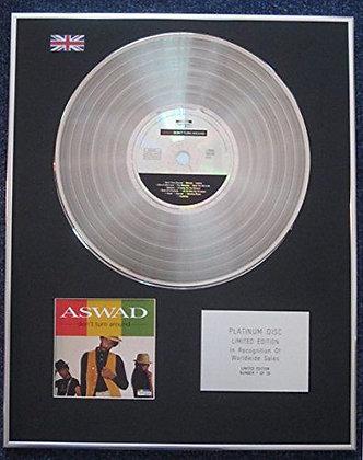 Aswad - Limited Edition CD Platinum LP Disc - Don't Turn Around