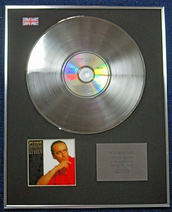 Jose Carreras - Limited Edition CD Platinum LP Disc - Sings Andrew Lloyd Weber