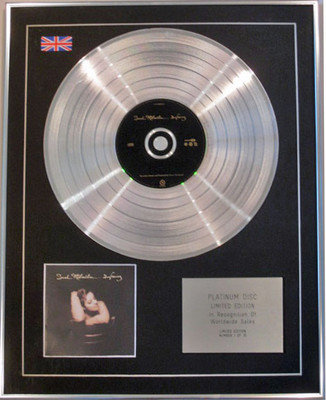 SARAH McLACHLAN - Limited Edition CD Platinum Disc - SURFACING