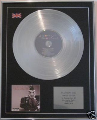 LIL WAYNE-CD Platinum Disc- THA CARTER 11