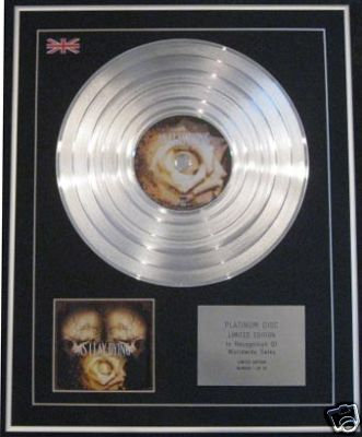 AS I LAY DYING -Ltd Edt CD Platinum Disc- A LONG MARCH