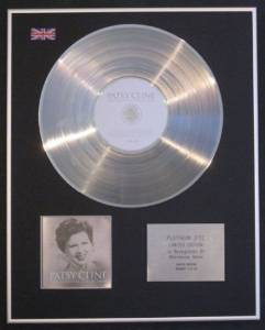 PATSY CLINE - Limited Edition Platinum Disc - THE ESSENTIAL