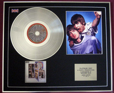 OASIS - CD Platinum Disc+Photo - STOP THE CLOCKS (The Best Of )