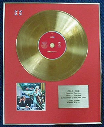 10cc - Limited Edition CD 24 Carat Gold Coated LP Disc - How Dare You