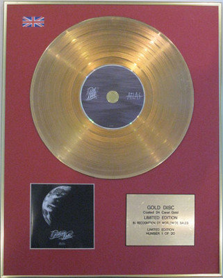 PARKWAY DRIVE - Limited Edition CD 24 Carat Gold Disc - ATLAS