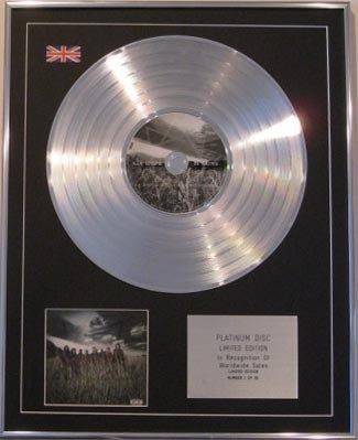 SLIPKNOT - Ltd Edt CD Platinum Disc - ALL HOPE IS GONE