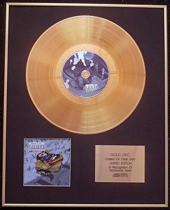 Pixies - Exclusive Limited Edition 24 Carat Gold Disc - Death of the Pixies (Bes