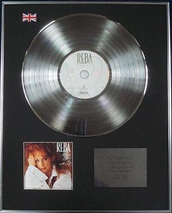 REBA MCENTIRE - Limited Edition CD Platinum Disc - READ MY MIND