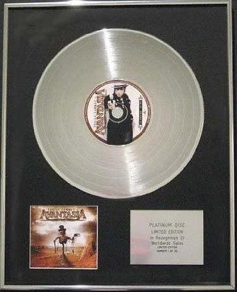 AVANTASIA - Limited Edition CD Platinum Disc - THE SCARECROW