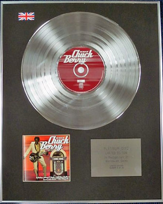 CHUCK BERRY - Limited Edition CD Platinum Disc
