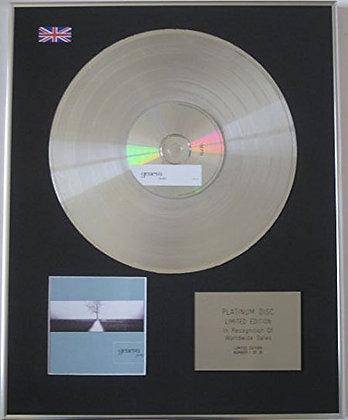 GENEVA - Limited Edition CD Platinum Disc - FURTHER