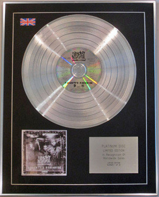 NAUGHTY BY NATURE - Limited Edition CD Platinum Disc - POVERTY'S PARADISE