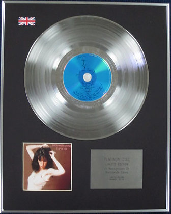 PATTI SMITH - Limited Edition CD Platinum Disc - EASTER