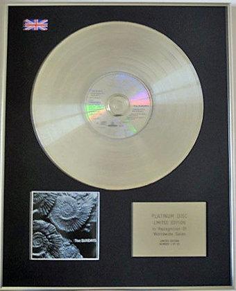 SUNDAYS - CD Platinum Disc - READING,WRITING AND ARITHMATIC