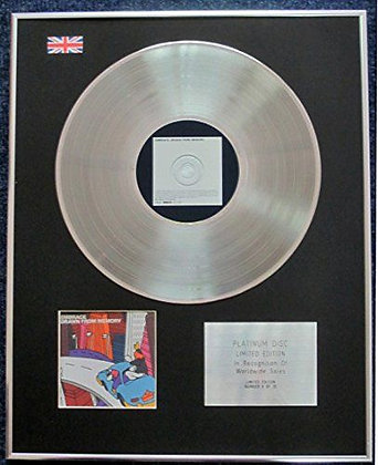 Embrace - Limited Edition CD Platinum LP Disc - Drawn from Memory
