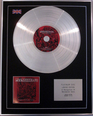 MEN THEY COULDN'T HANG - Limited Edition CD Platinum Disc- SMUGGLERS & BOUNTY