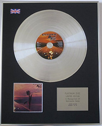 PRETTY THINGS - Limited Edition CD Platinum Disc - PARACHUTE