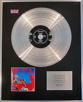 URIAH HEEP - Limited Edition CD Platinum Disc - MAGICIANS BIRTHDAY