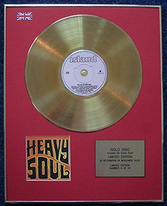 Paul Weller - Limited Edition CD 24 Carat Gold Coated LP Disc - Heavy Soul