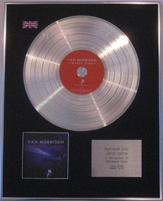 VAN MORRISON - Limited CD Platinum Disc - MAGIC TIME