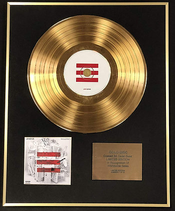 Jay Z - Exclusive Limited Edition 24 Carat Gold Disc - The Blueprint 3
