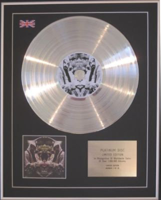 MIDLAKE  - CD Platinum Disc -THE COURAGE OF OTHERS
