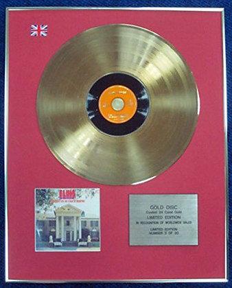 Elvis Presley - LTD Edition CD 24 Carat Gold Coated LP Disc - How great thou art