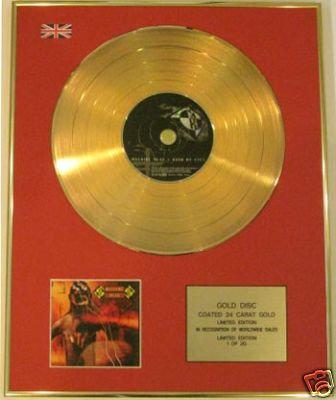 MACHINE HEAD - Ltd Edt   CD Gold Disc- BURN MY EYES