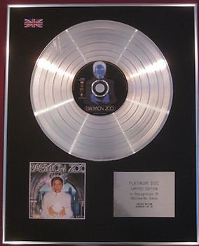 BABYLON ZOO -   CD Platinum Disc -  THE BOY WITH THE X-RAY EYES