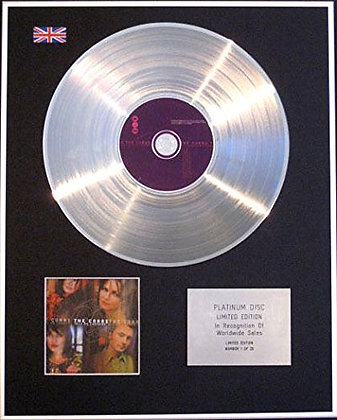 CORRS - CD Platinum Disc - TALK ON CORNERS