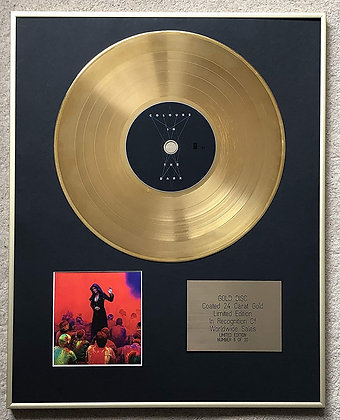 TARJA - Exclusive Limited Edition 24 Carat Gold Disc - COLOURS IN THE DARK