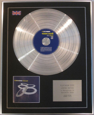 808 STATE  - Limited Edition CD Platinum Disc - EX:EL