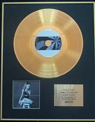 Ariana Grande - Exclusive Limited Edition 24 Carat Gold Disc - My Everything