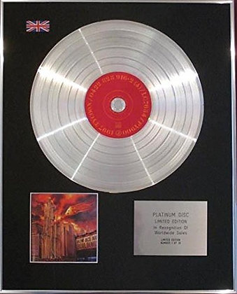 A - Limited Edition Platinum Disc - HOW ACE ARE BUILDINGS