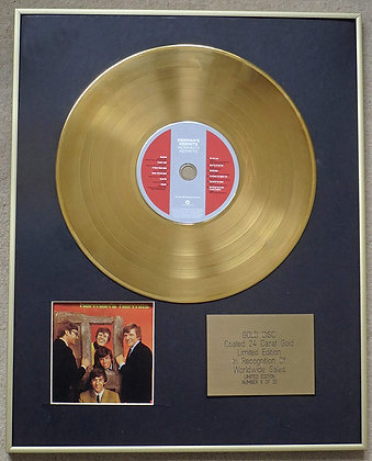 HERMAN'S HERMITS - Exclusive Limited Edition 24 Carat Gold Disc - 'HERMAN'S HERM