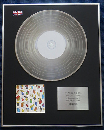 Hot Chip - Limited Edition CD Platinum LP Disc - Hot Chip