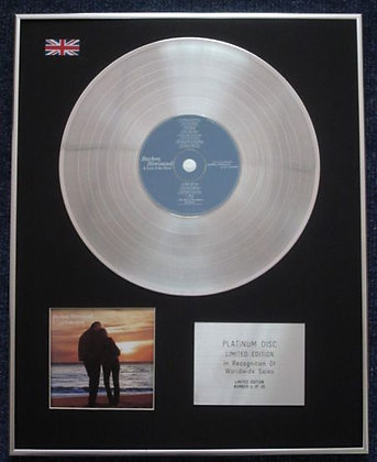 BARBRA STREISAND - Limited Edition CD Platinum LP Disc - A LOVE LIKE OURS