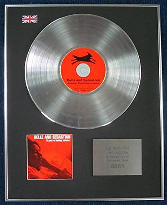 BELLE AND SEBASTIAN - Limited Edition CD Platinum LP Disc - IF YOUR FEELING?