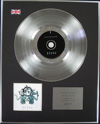 ROYAL BLOOD - Limited Edition CD Platinum Disc - OUT OF THE BLACK. EP