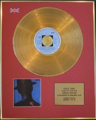 BLUE NILE - Ltd Edition CD 24 Carat Gold Disc - HATS
