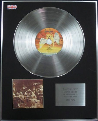 LED ZEPPELIN - CD Platinum Disc - IN THROUGH THE OUTDOOR(with cover 4)