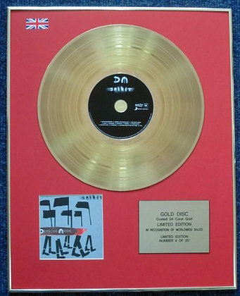 Depeche Mode - Limited Edition CD 24 Carat Gold Coated LP Disc - Spirit