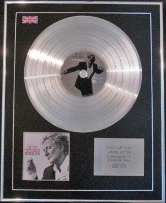 ROD STEWART  CD Platinum Disc- SOULBOOK