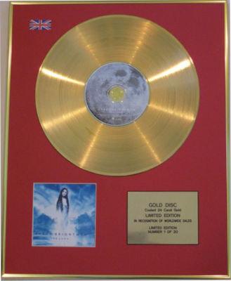 SARAH BRIGHTMAN - CD 24 Carat Gold Disc - LA LUNA