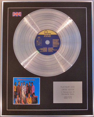 WAS (NOT WAS)  - Limited Edition CD Platinum Disc - ARE YOU OK