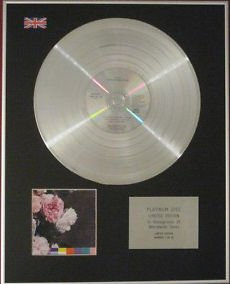 NEW ORDER - CD Platinum Disc-POWER CORRUPTION AND LIES