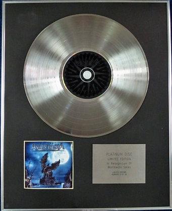 AVANTASIA - Limited Edition CD Platinum Disc - ANGEL OF BABYLON