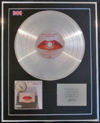 RED HOT CHILI PEPPERS  CD Platinum Disc- GREATEST HITS