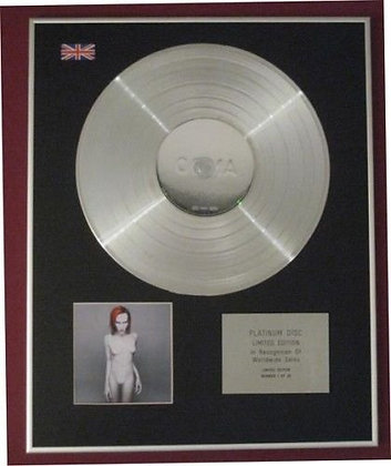 MARILYN MANSON - Platinum Disc - MECHANICAL ANIMALS