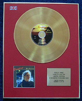 Eva Cassidy - Limited Edition CD 24 Carat Gold Coated LP Disc - Songbird